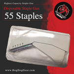 Disposable Staple Gun Pro (55 Staples)