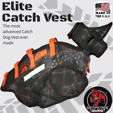Elite Catch Vest- Attached Collar Extreme Protection