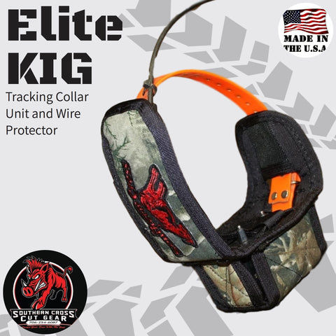 Elite KIG- Tracking Collar Unit and Wire Protector