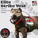 Elite Strike Vest- Attached Collar Enlarged Leg Holes Extreme Protection