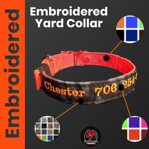 SC Embroidered Yard Collar