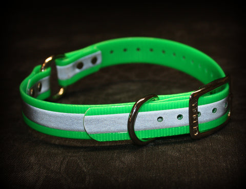 Reflective Dog Collars - Southern Cross Cut Gear