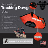 Armored Dog Tracking Dawg Vest