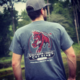 """Send 'Em"" T Shirt - Southern Cross Cut Gear"