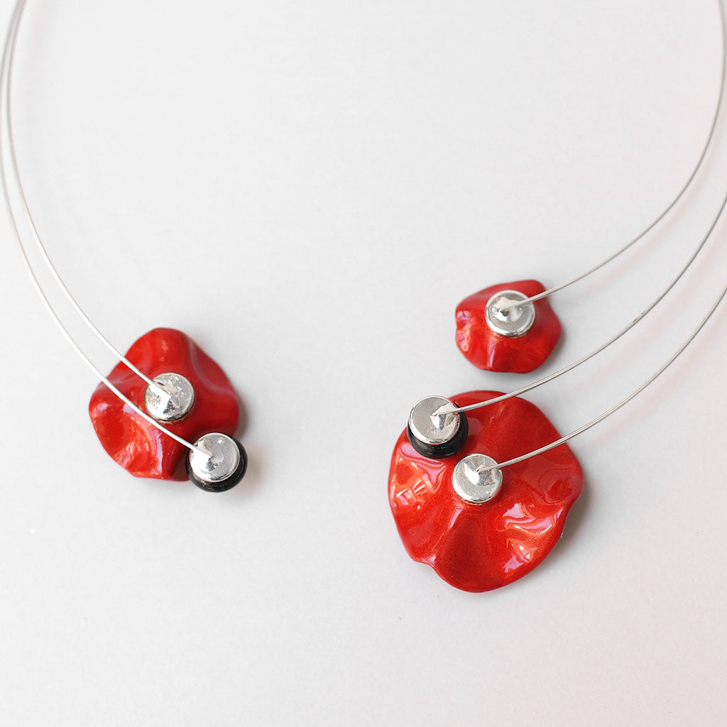 Flowers-Seeds Necklace