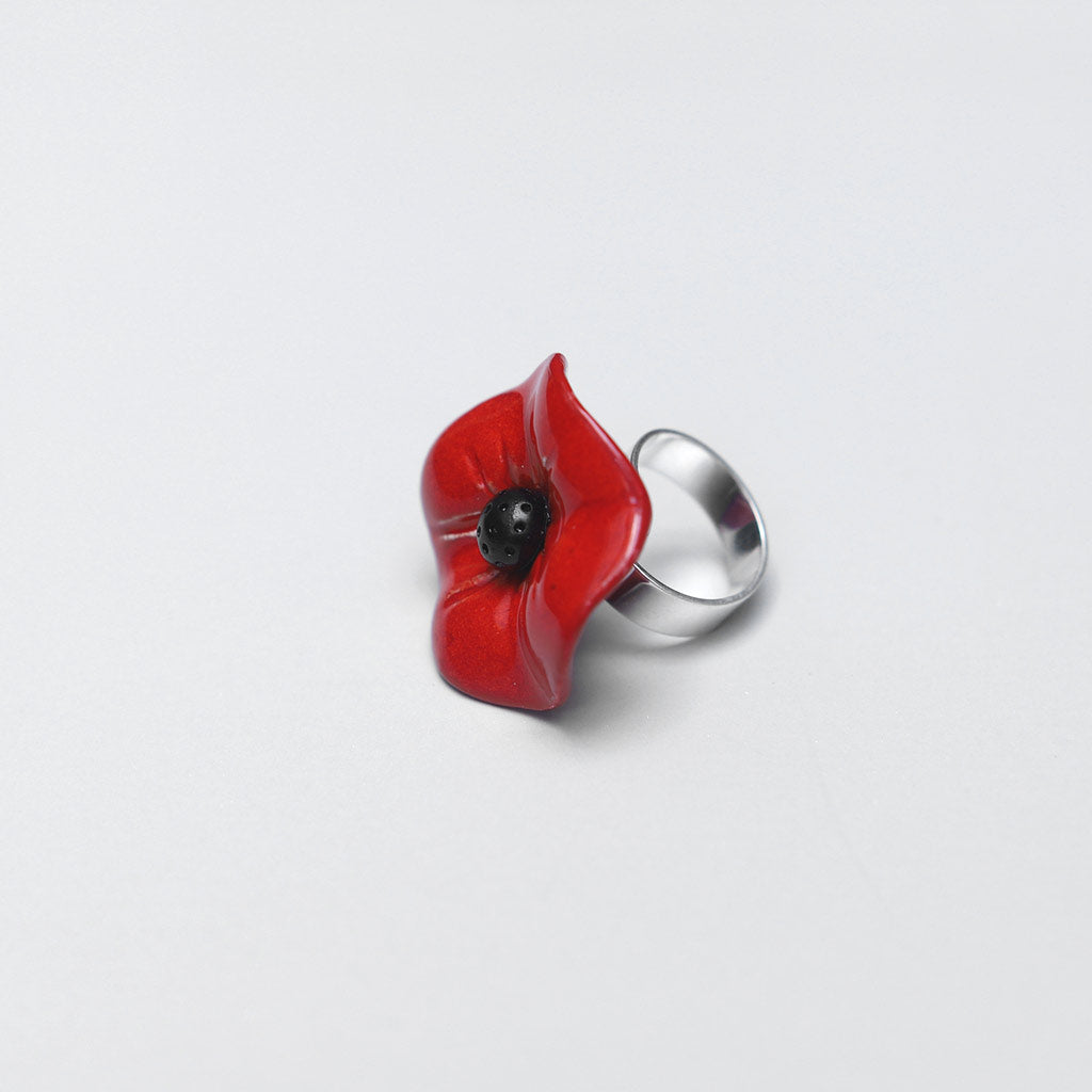 Big Flower Ring