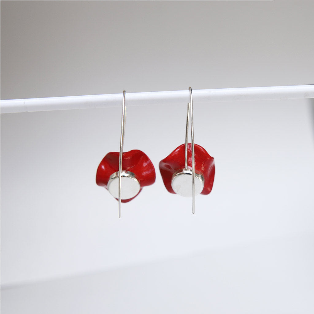 Medium Flower Earrings