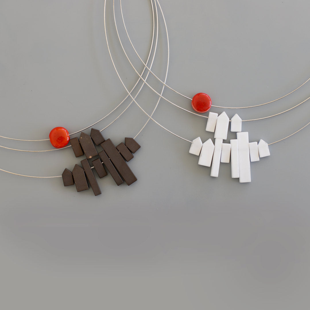 Città Necklace, Miniature Buildings