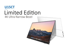 Load image into Gallery viewer, [U15CT] Limited Edition - 4K Ultra Narrow Bezel Compact Monitor