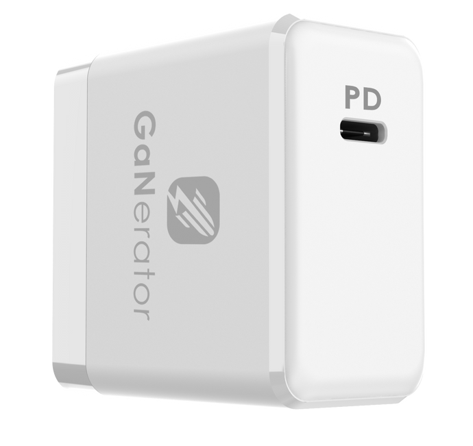 「GaNerator」Ultra Mini Size 65W GaN PD USB Type-C Charger