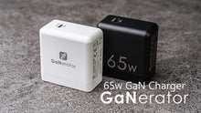Load image into Gallery viewer, 「GaNerator」Ultra Mini Size 65W GaN PD USB Type-C Charger