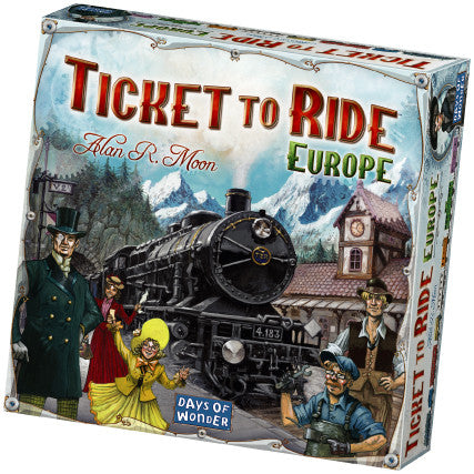 Spel ticket to ride - AllesKids4Toys