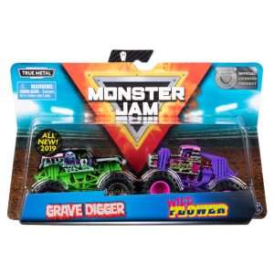 Monster jam die cast trucks 2 pack schaal 1:64 - AllesKids4Toys