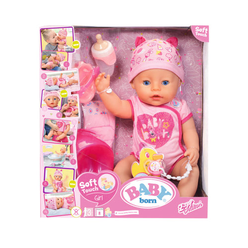 Baby born soft touch girl - AllesKids4Toys