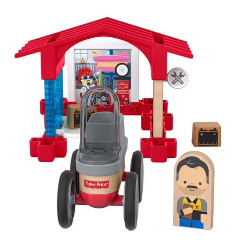 Fisher price wonder makers garage - AllesKids4Toys