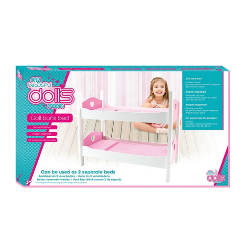 Poppenmeubel stapelbed - AllesKids4Toys