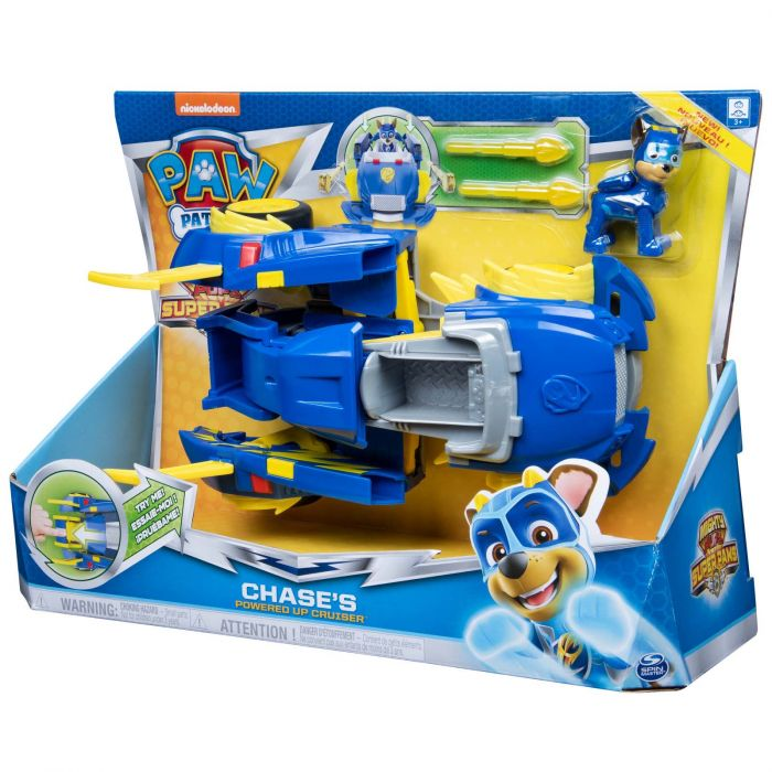 Paw patrol mighty pups vehicle chase - AllesKids4Toys