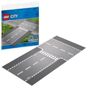 Lego City 60236 Straight And Tjunction - AllesKids4Toys