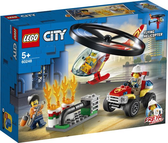 Lego City 60248 Fire Helicopter Response - AllesKids4Toys