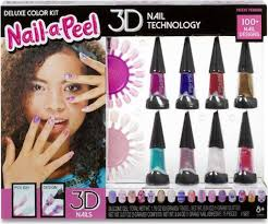 Nail a peel deluxe color kit - AllesKids4Toys