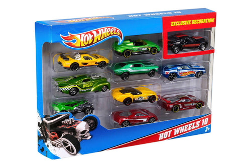 Hot Wheels 10pack giftset ASSORTI - AllesKids4Toys