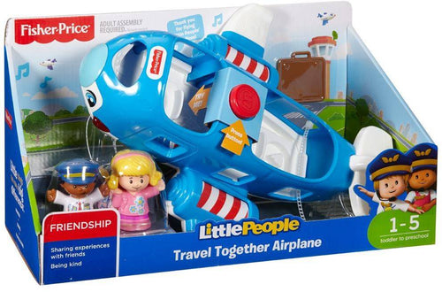 Fisher price little people vliegtuig - AllesKids4Toys