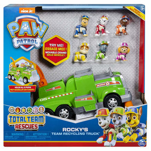 Paw patrol total team vehicle  rocky - AllesKids4Toys