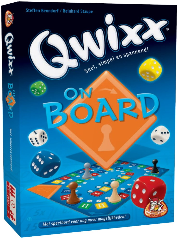 Spel qwixx on board - AllesKids4Toys