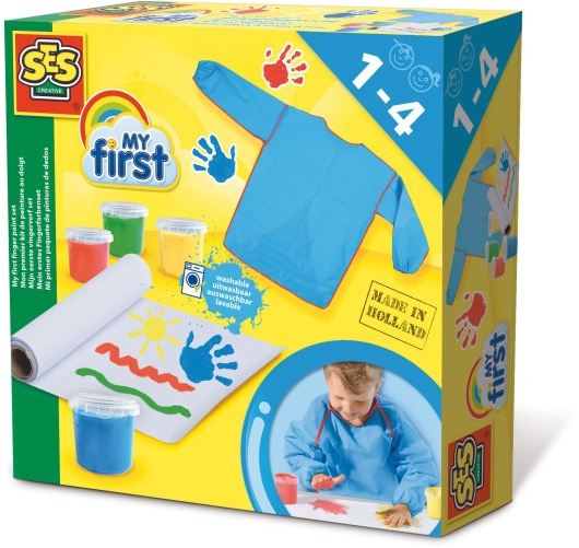 Ses my first vingerverf set - AllesKids4Toys