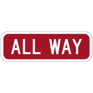 All Way - Signs Everywhere USA