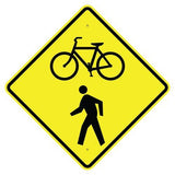 Bike / Pedestrian (Symbol) - Signs Everywhere USA