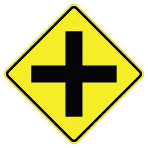 Cross Road (Symbol) - Signs Everywhere USA