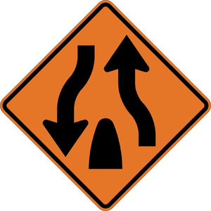 Divided Highway Ends - Signs Everywhere USA