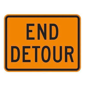 End Detour - Signs Everywhere USA