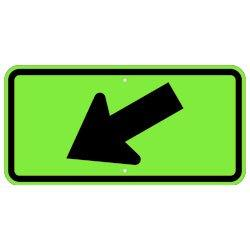 Down and Left Directional Arrow - Signs Everywhere USA