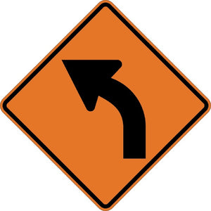 Left Curve (Symbol) - Signs Everywhere USA