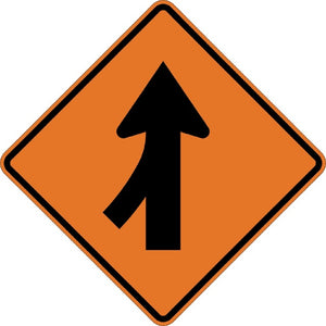 Left Merge (Symbol) - Signs Everywhere USA