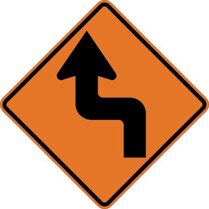 Left Reverse Turn (Symbol) - Signs Everywhere USA