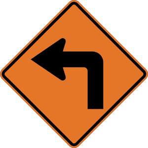 Left Turn (Symbol) - Signs Everywhere USA