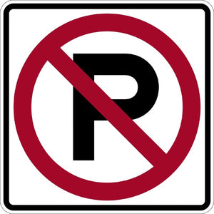 No Parking (Symbol) - Signs Everywhere USA