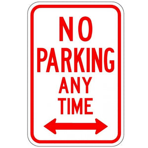 No Parking Anytime (Double Arrows) - Signs Everywhere USA