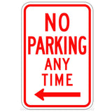No Parking Anytime (Left Arrow) - Signs Everywhere USA