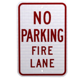 No Parking Fire Lane - Signs Everywhere USA