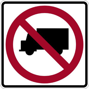 No Trucks (Symbol) - Signs Everywhere USA