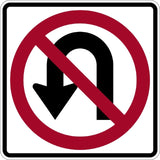 No U-Turn (Symbol) - Signs Everywhere USA