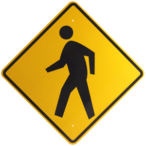Pedestrian Advance (Symbol) - Signs Everywhere USA