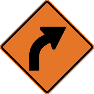 Right Curve (Symbol) - Signs Everywhere USA