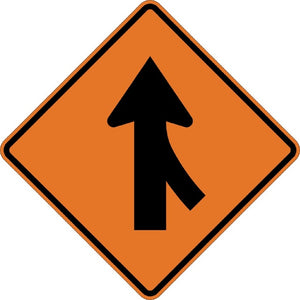 Right Merge (Symbol) - Signs Everywhere USA