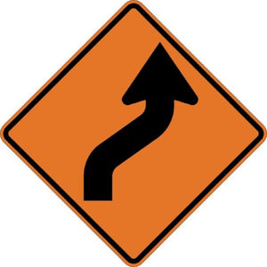 Right Reverse Curve (Symbol) - Signs Everywhere USA
