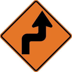 Right Reverse Turn (Symbol) - Signs Everywhere USA